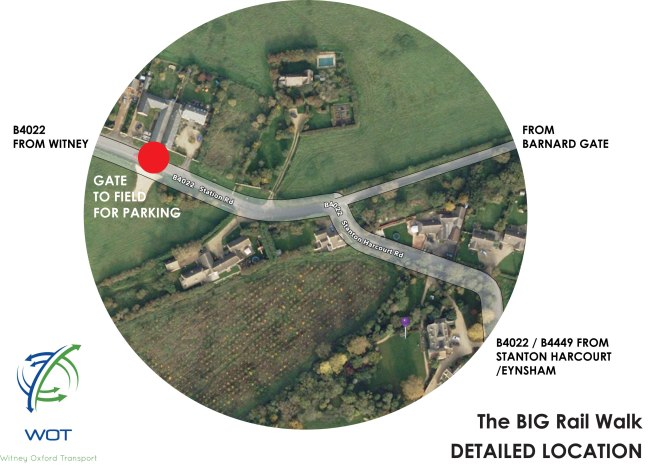 Directions to big walk