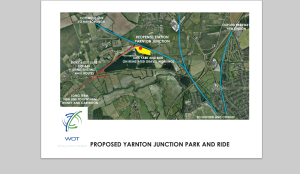 yarnton station map